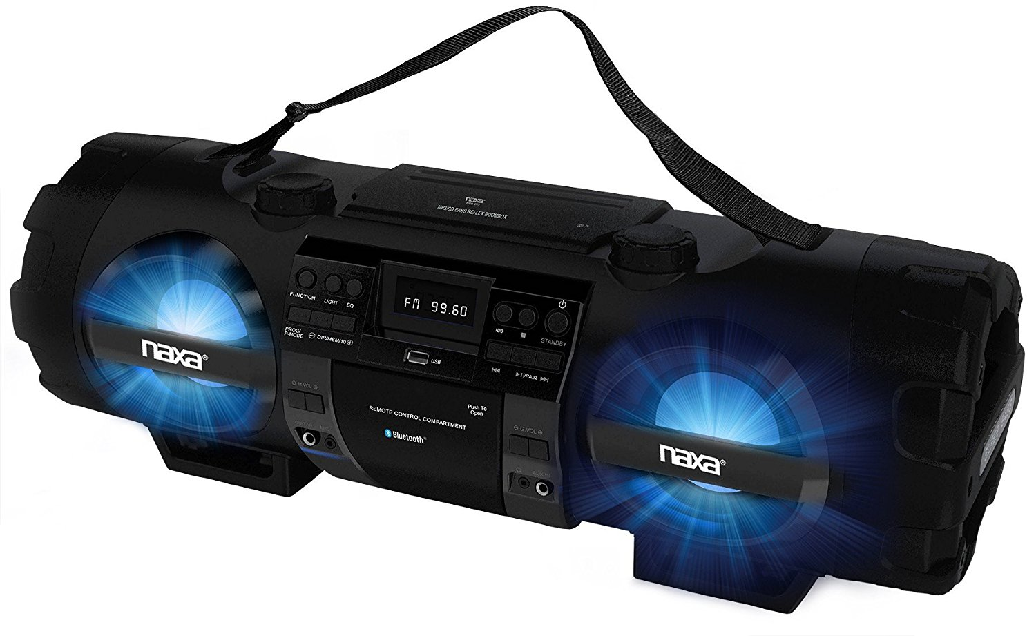 NAXA Boombox Reviews