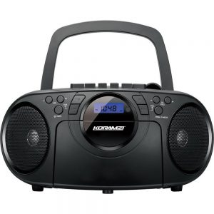 KORAMZI PORTABLE CD PLAYER BOOMBOX