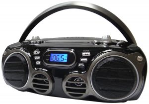 SYLVANIA PORTABLE BLUETOOTH CD RADIO BOOMBOX