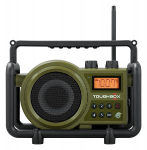 ULTRA RUGGED DIGITAL TUNING RECHARGEABLE RADIO