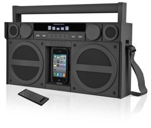 iHome IP4GZC FM 30-Pin iPod iPhone Speaker Dock Boombox