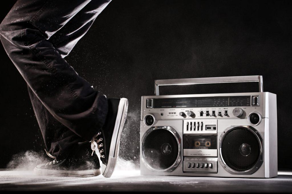 Vintage 80s Sanyo M9815K Boombox Ghetto Blaster Radio Tape ...  |80s Boombox