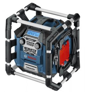 BOSCH PB360S 18-VOLT LITHIUM-ION POWER BOX JOBSITE RADIO