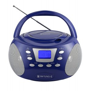 RIPTUNES BLUETOOTH AM FM CD BOOMBOX