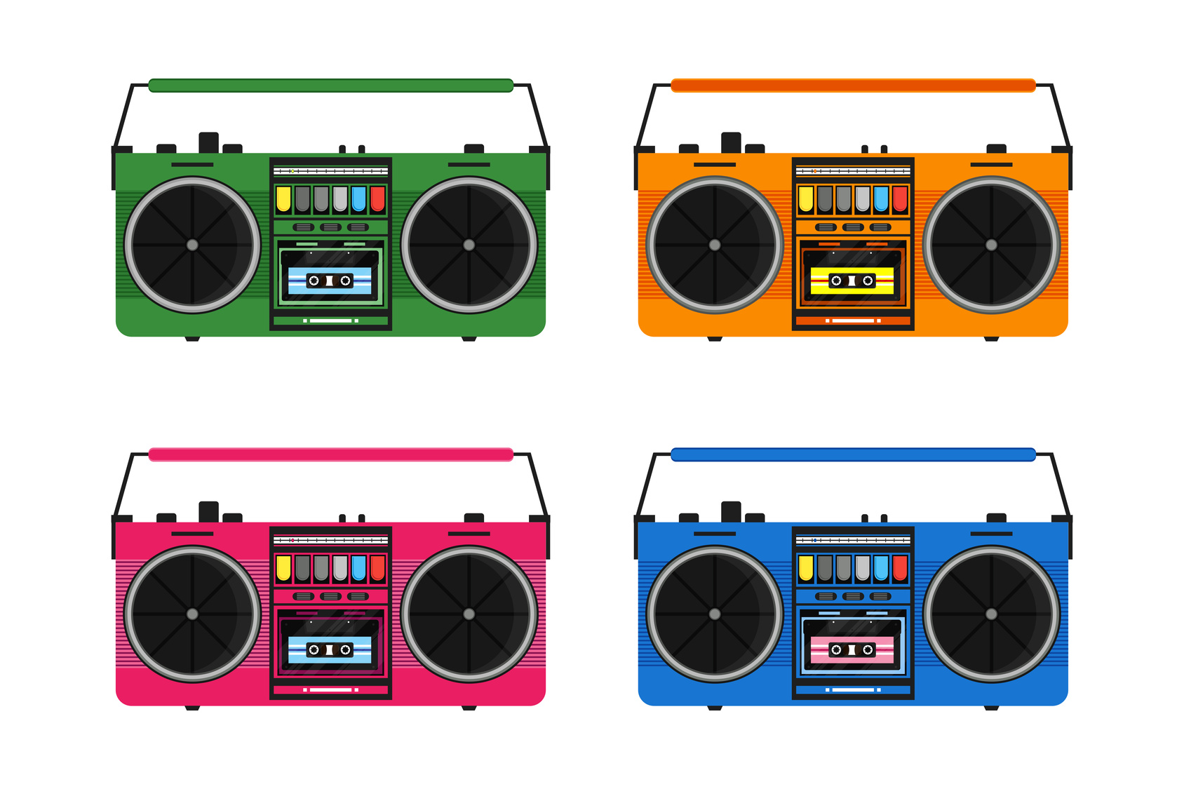 Paint Colors For Car >> 10 Awesome Ways to Use Your Retro Boombox - SoundSpare