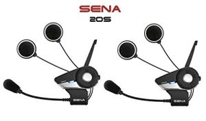 Sena 20S-01D Motorcycle Bluetooth Communication System with HD Audio and Advanced Noise Control
