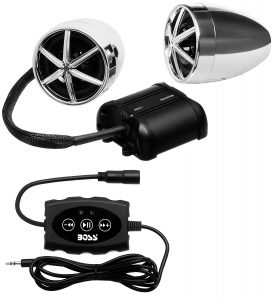 Sound Storm SMC90BB Bluetooth Sound System for motorcycle