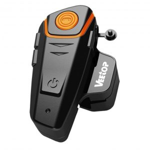 Vertigo 1x800M WaterProof: Best motorcycle Bluetooth headset for music